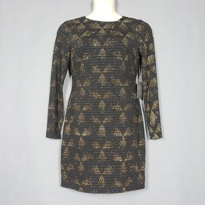🆕 Vince Camuto Sheath Dress with gold detail